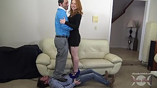 cuckold trample by couple