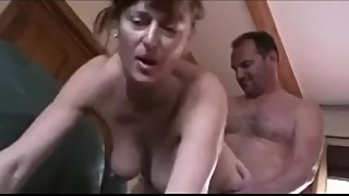 British Cuckhold Husband watches wife fuck another guy