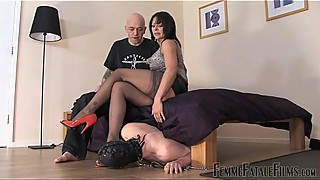 Carly'_s Cuckold part1 - Mistress Carly - FemmeFataleFilms - FemDom Sex