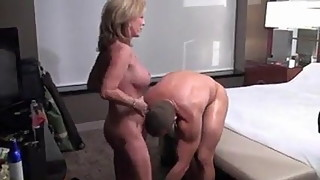 Cougar wife vs younger hunk