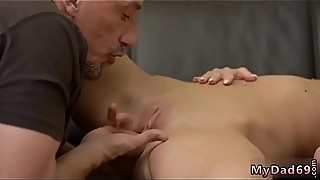 First time old man and fuck daddy creampie Would you pole-dance on my