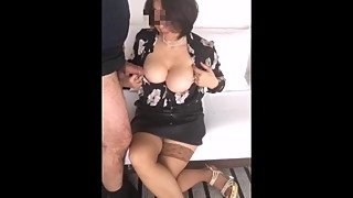 moglieporcellina72 cum on her tits