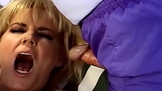 Outdoor 3some Swinger Blonde MILF