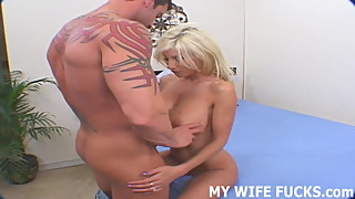 I want to watch my wife have a really hard orgasm