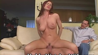 Hubby Shares Hot Redhead