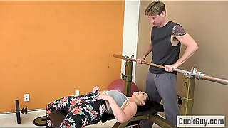 Cheating Wife Fucked by Her Gym Trainer