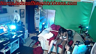 Ebony maid casting couch for Temple Love_ she has to service a disabled veteran(Norris J) back to health :)