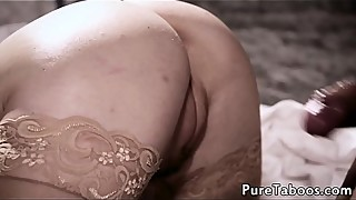 Cuckolding milf drilled in front of husband