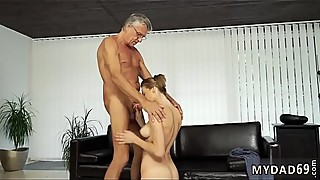 Latin daddy and bi cuckold man first time Sex with her boyplaymate&acute_s