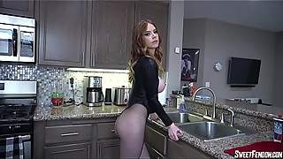 Your Big Titty Red Head Wife Kisses You With His Cum CUCKOLD