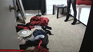 Cuckolded by a Bunny Girl CHASTITY SPIKES PANTYHOSE COSPLAY - BigCams.net