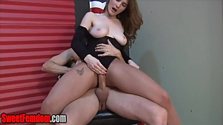 Eat His Cum for Molly Jane CUCK CEI LEOTARD PANTYHOSE HJ JOI