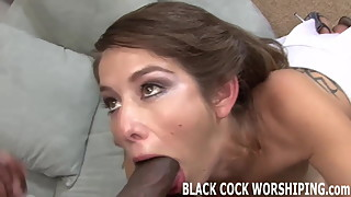 Nothing gets me wetter than a big black monster cock