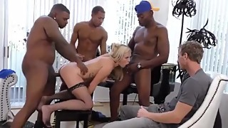 Summer Day pmv interracial cuckold gangbang