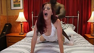 BBC Cheating Wife! Bride's Interracial Cuckolding