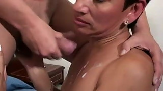 Spanish Lady Loves Young Cocks